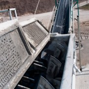 Inerti Camalo' - Impianto prodotti cementati dettaglio miscelatore